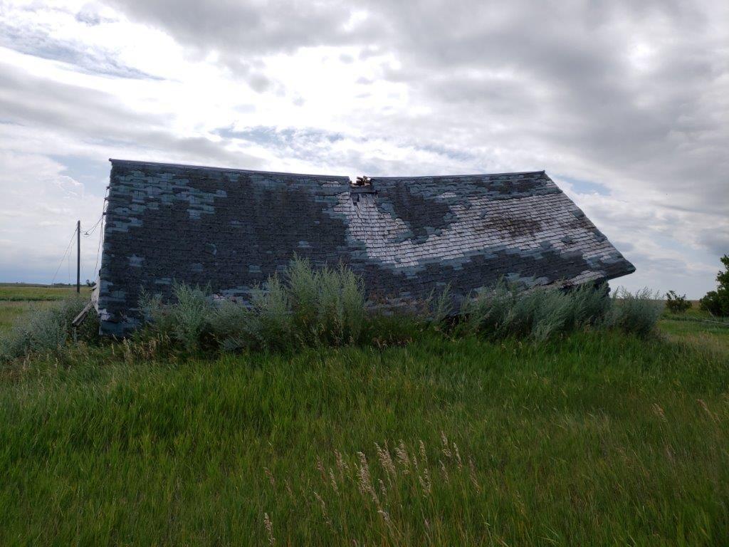 Rudolf Bossert  sod house in 2019