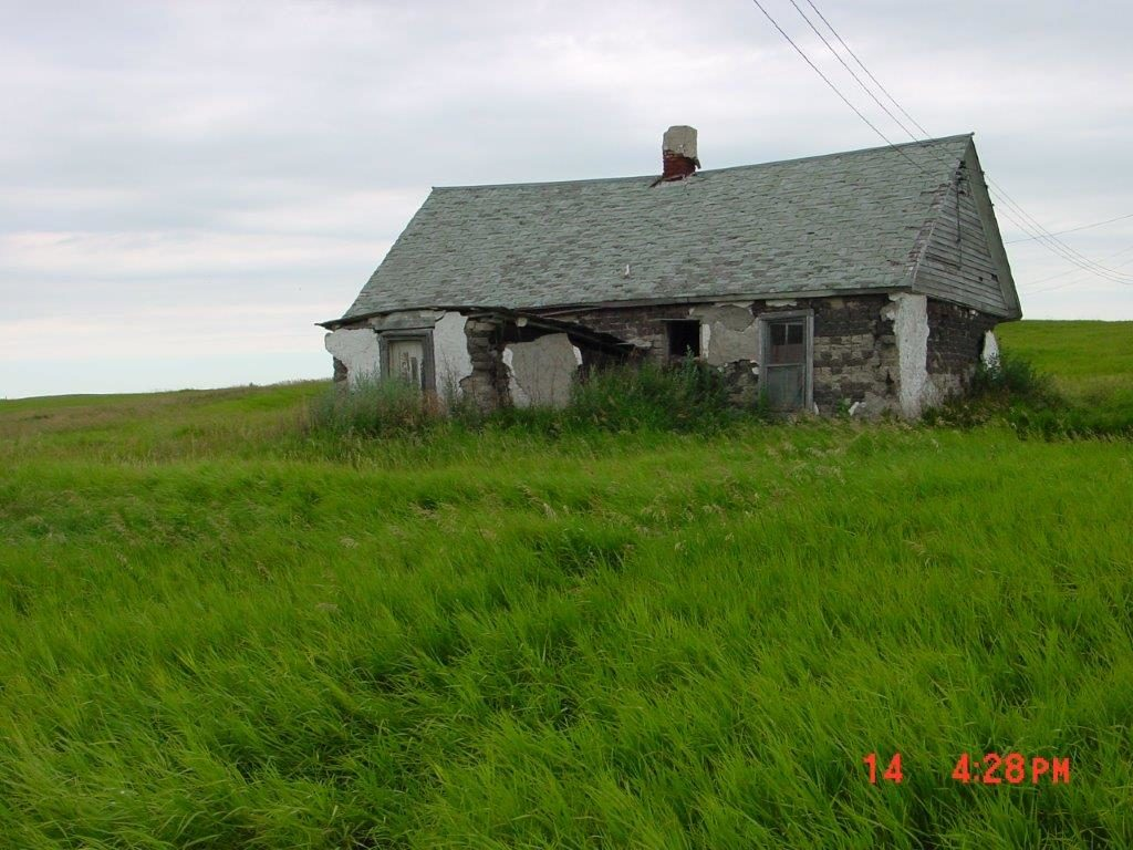 Rudolf Bossert sod house in 2005